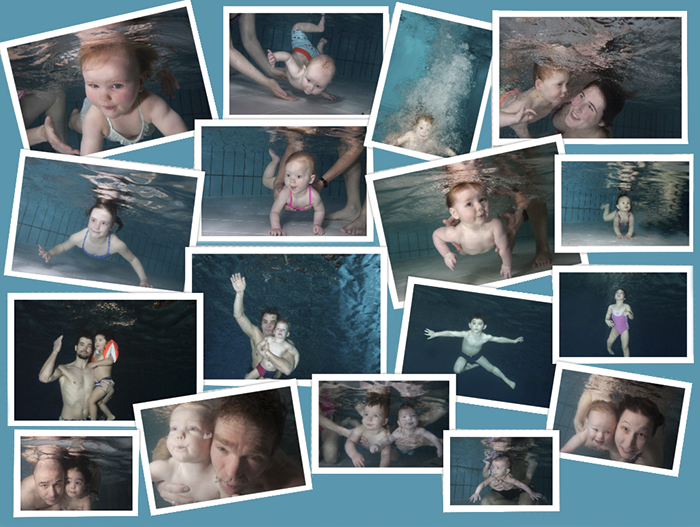 babyzwemmen zwembaden onderwater