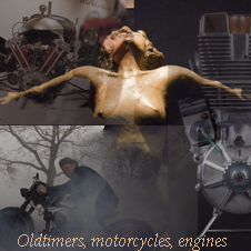 Oldtimers, motorcycles...