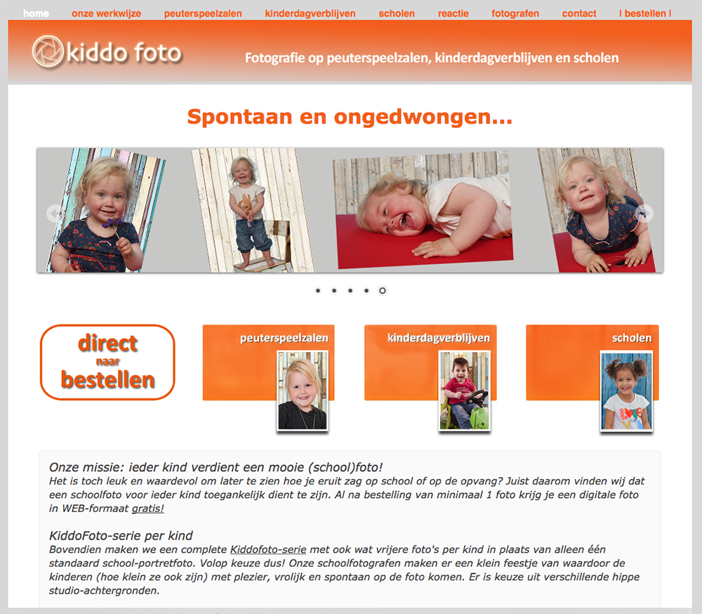 Kiddofoto-site