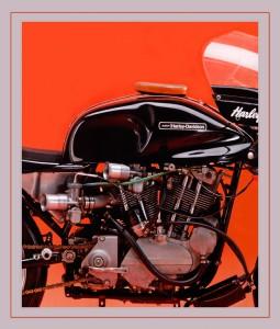 je motor op de foto